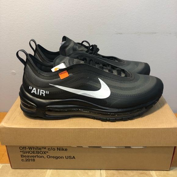 info for 3ba4a b1811 Off-white Nike air Max 97 OG Black